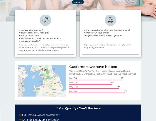 Home Efficiency Surveys Website Design