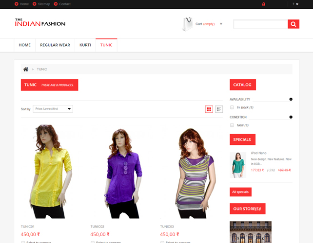 eCommerce Website for Online Fashion