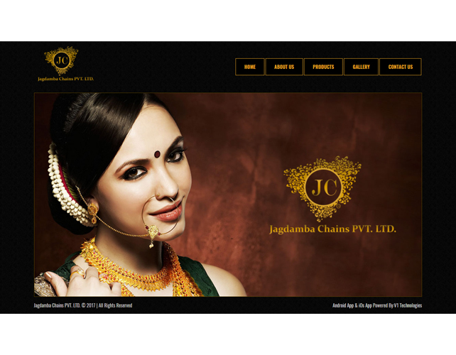 Jewellers Business Website