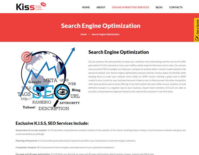 SEO Company Website Design