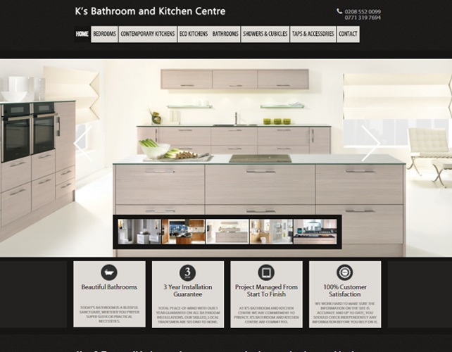 Bathroom and Kitchen Design Website