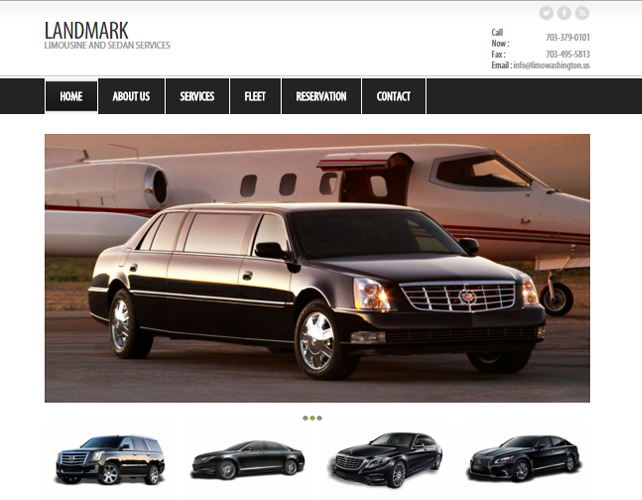 Web Design for USA Car Hire Business