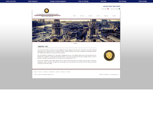 Website Design for Business Consultant