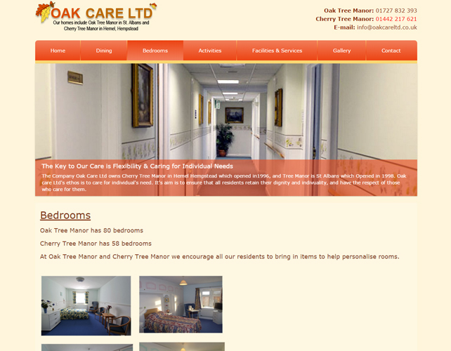 Care Home Website