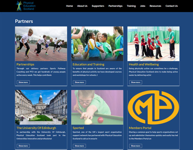 Physical Education Website