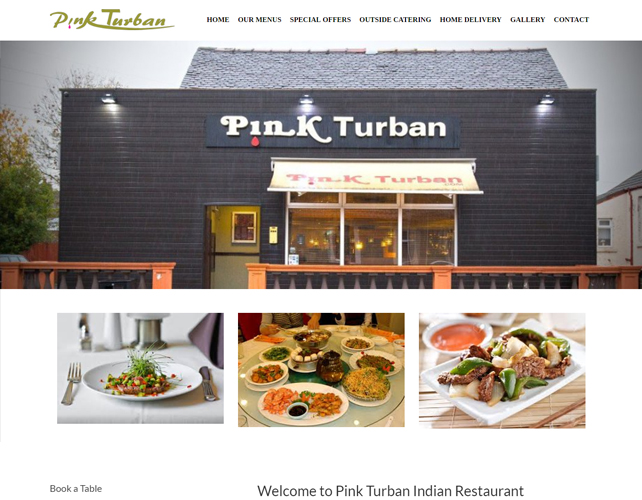 Restaurant Business Website