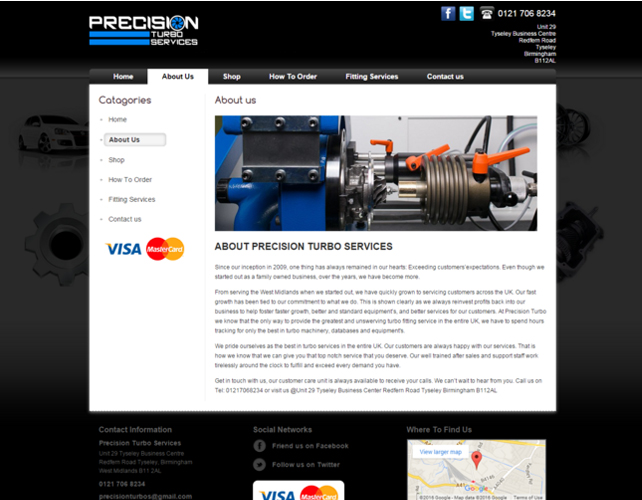 Automobile Business Website