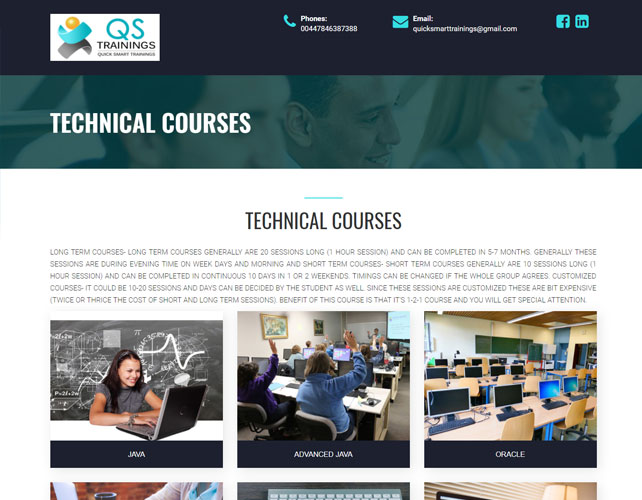 Training Solutions Website