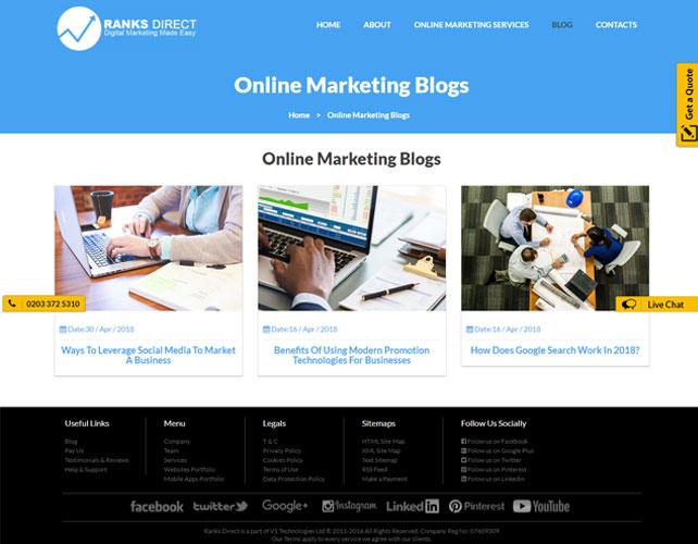 SEO Service Providers Website