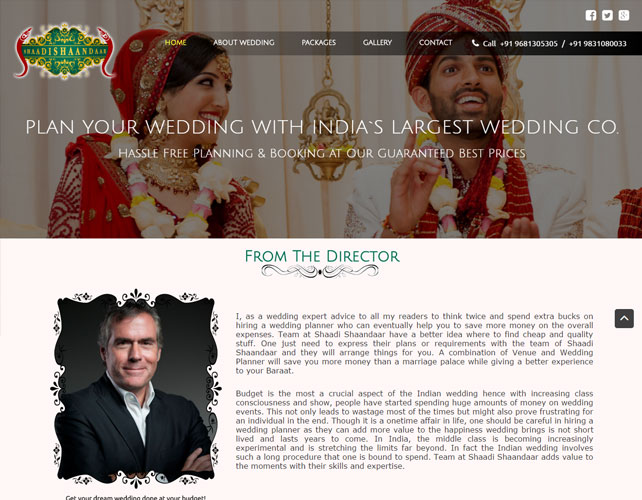 Wedding Planner Websites