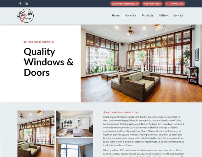 Windows & Doors Installation Website