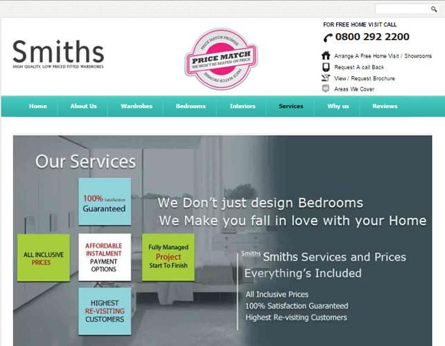 Furniture Designer Website