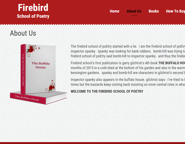 Website for Publishing House