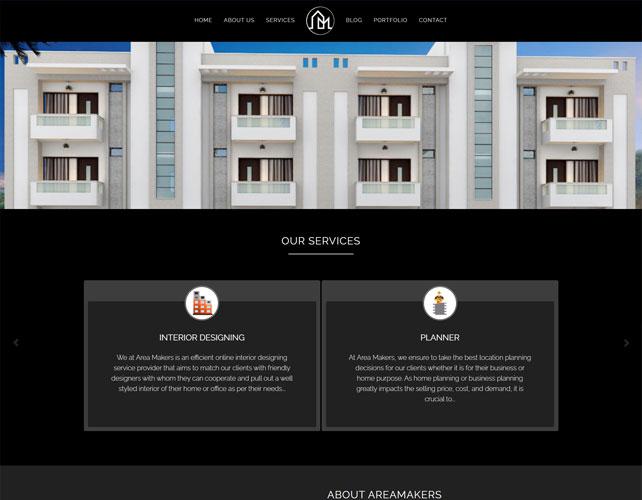 Architects & Interior Designer Website