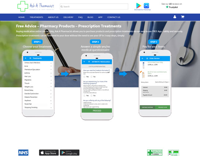Pharmacist Website