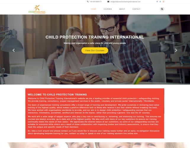 Child Protection Training International Website