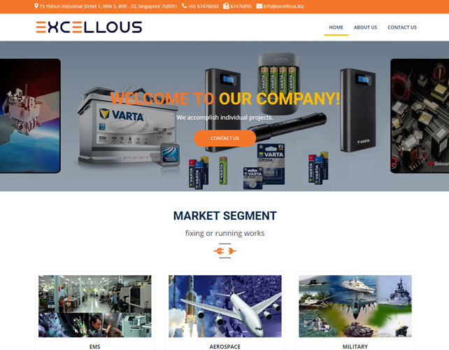 Electronics products Distributor