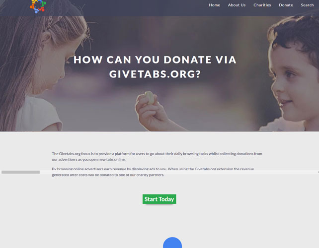 Donations Website Design