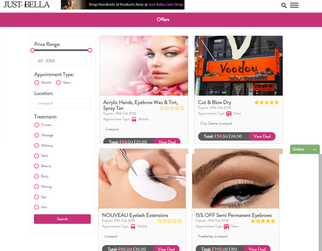Beauty Services Marketplace