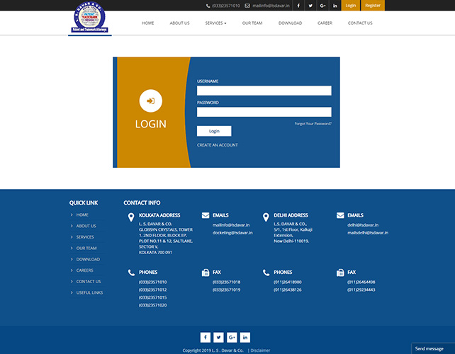 Law firms Website