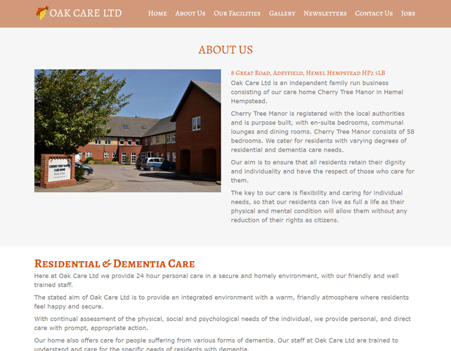 Residential Care Home