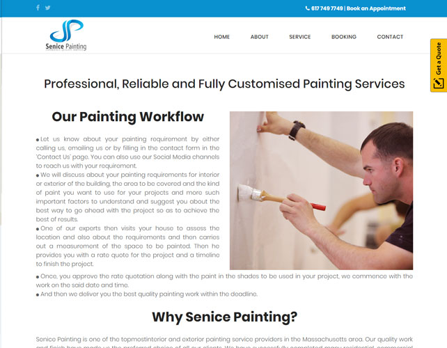 Customised Painting Services