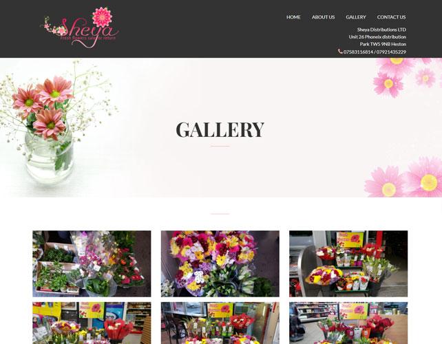 Flowers Business Website Design