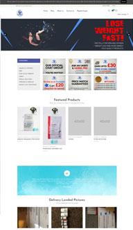 Steroid World Website Design