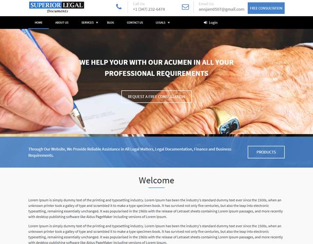 Document Preparation Website