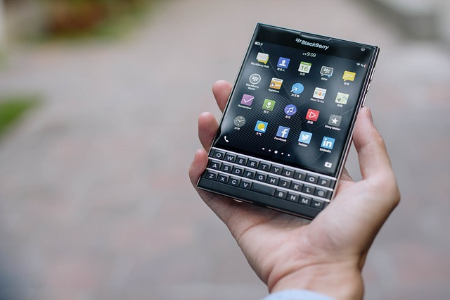 Blackberry App Development uk