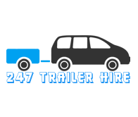 247 trailer hire Website logo