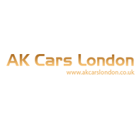 AK cars london Website logo