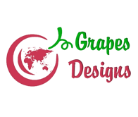 Grapes desing Web site Logo