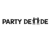 Party De De Website logo