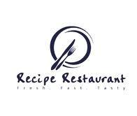 Recipe Restautant Web site Logo