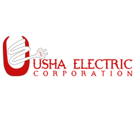 Usha electric Website logo